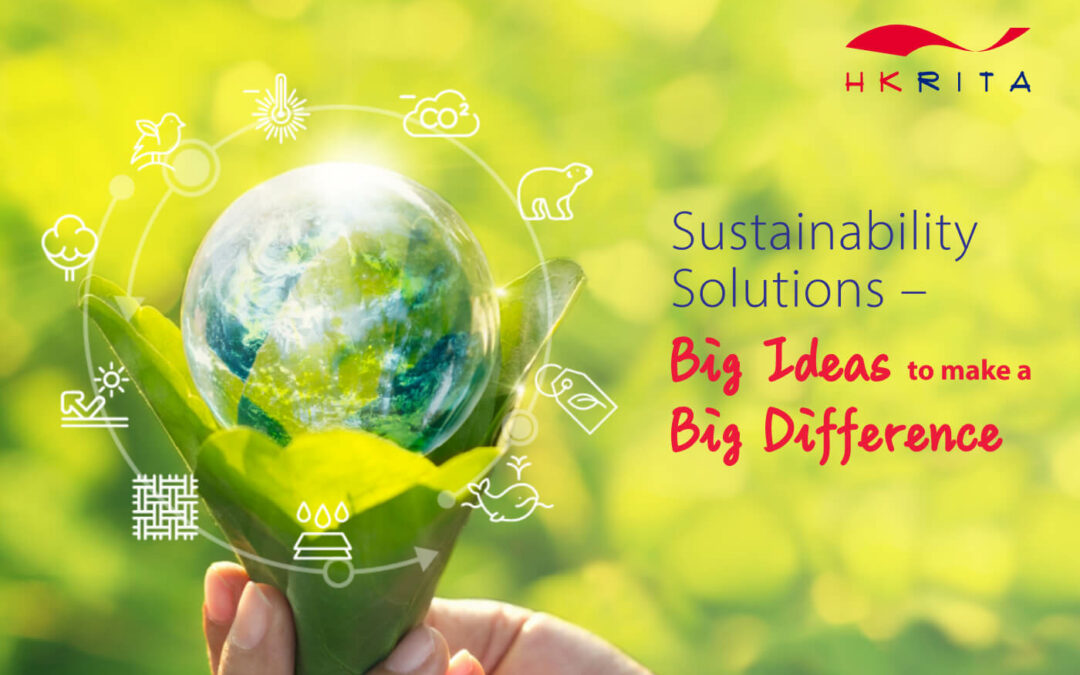 """Tech Webinar """"Sustainability Solution: Big Ideas to make a Big Difference"""""""