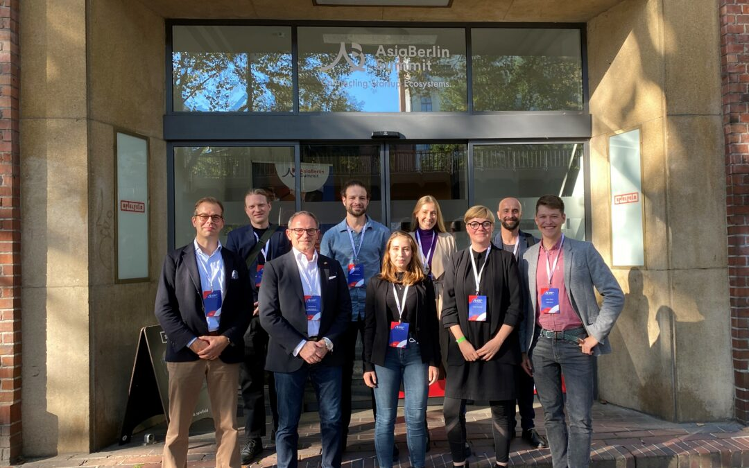 Great to have come together with our Berlin-China networking project partners at AsiaBerlin Summit 2021! ✨